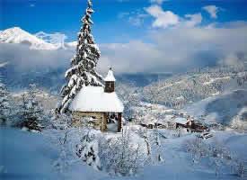 冬季峨眉山雪景图片