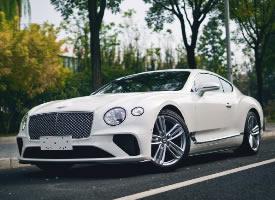 宾利欧陆GT w12,满满的高级感