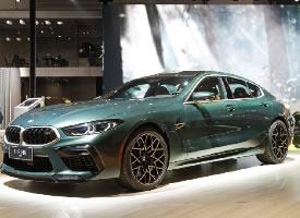 全新BMW M8四门轿跑车,凌厉优雅的车身轮廓