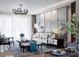 新中式风装修设计,水墨空间里的东方情怀