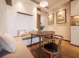 88㎡以木色和白色为主北欧现代风3室2厅设计