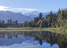 新西兰库克山自然风景桌面壁纸