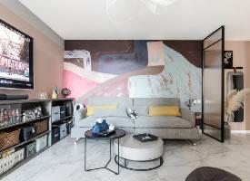 80平米收纳力满分北欧风格两居室