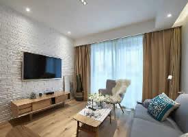 90㎡北欧风格家居装修设计案例