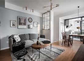 80㎡粉嫩粉嫩的北欧风格三居室设计