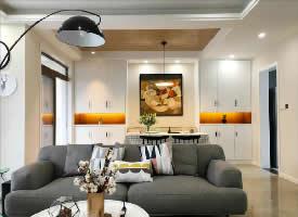 110㎡温暖简约北欧风格三居室设计