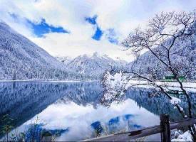 四川达古冰川雪景,宛如仙境一般
