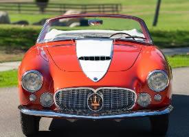 经典车之1956年玛莎拉蒂
