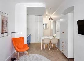 27㎡小而迷人的公寓,单床还能变双床