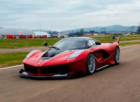 炫酷的法拉利FXXK超级跑车图片