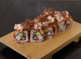 爽口美味的寿司图片