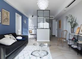 90平米北欧风格装修设计的家 