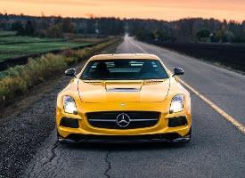 经典的奔驰SLS AMG图片欣赏