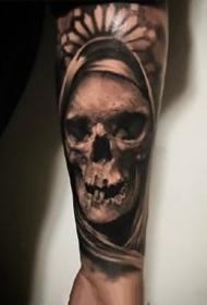 一组欧美写实手臂纹身图案