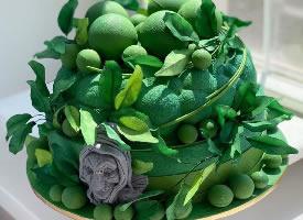 一组洋气精致的蛋糕图片
