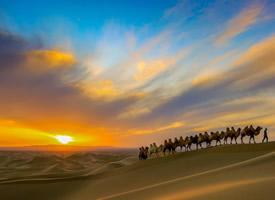 黄沙大漠唯美高清桌面壁纸