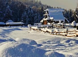 禾木冬景,静谧而温馨的雪乡