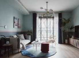 文艺北欧风家居装修设计,自然小清新之家