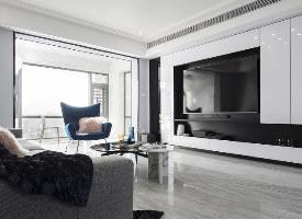 现代简约风三居室设计
