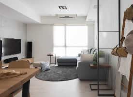 100㎡北欧极简风格家居装修设计