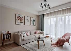 91㎡北欧风格两居室设计