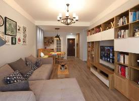 87平无印北欧风小家,装修的非常舒适