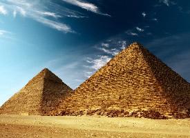 埃及金字塔风光高清图片欣赏