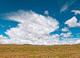 格尔木蓝天风景高清图片