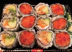 可爱又好吃的寿司图片