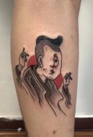 一组日式传统小纹身图案欣赏