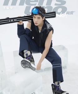 王安宇酷帅杂志封面写真图片