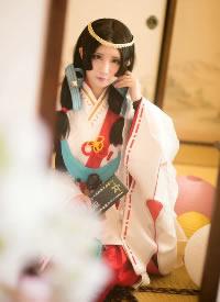 阴阳师cosplay八百比丘尼图集写真 