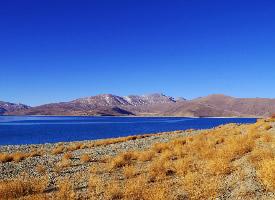西藏羊卓雍措风光高清摄影图片