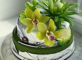 双层淋面蛋糕,精装小洋房