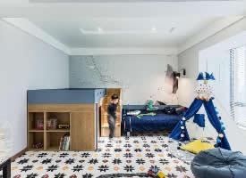 168㎡现代简约三居室设计