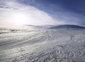挪威唯美雪景高清风景图片