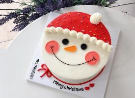 超可爱的奶油蛋糕圣诞款