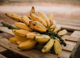 软糯香甜的香蕉图片