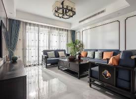 质朴典雅新中式住宅