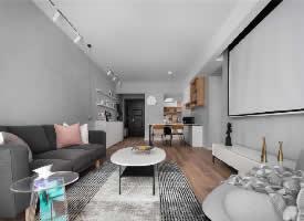 96㎡北欧风格两居室设计