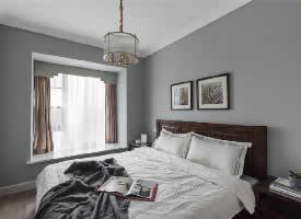 155㎡美式轻奢风格四居室设计