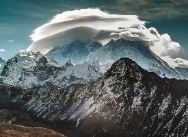 壮丽山川风景摄影图片