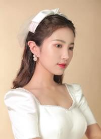 一组韩系新娘造型图片