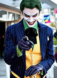 日本cosplay帥哥變身最驚艷小丑
