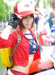 宠物训练师cosplay美女图片
