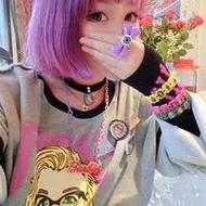 非主流时尚女生原宿风微信头像图片