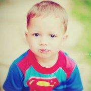 萌趣可爱的欧美超人宝宝qq头像图片
