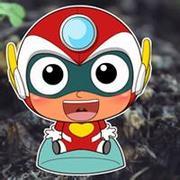萌噠噠可愛的超人微信卡通頭像圖片