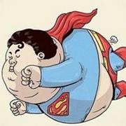 超萌搞笑版胖超人qq头像图片欣赏