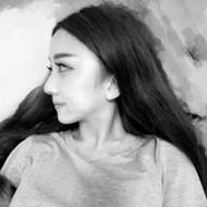 有个性的qq非主流女生灰色头像图片